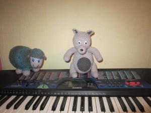 овца и волк на репетиции