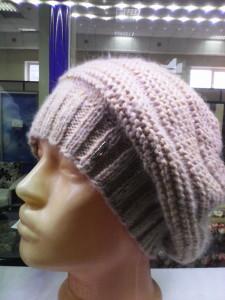 шапка женская одинарная