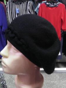 шапка двойная