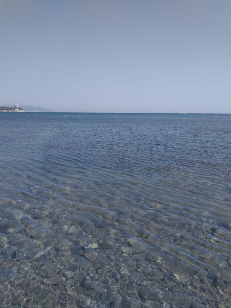 Пляжи Тонкий мыс Геленджик